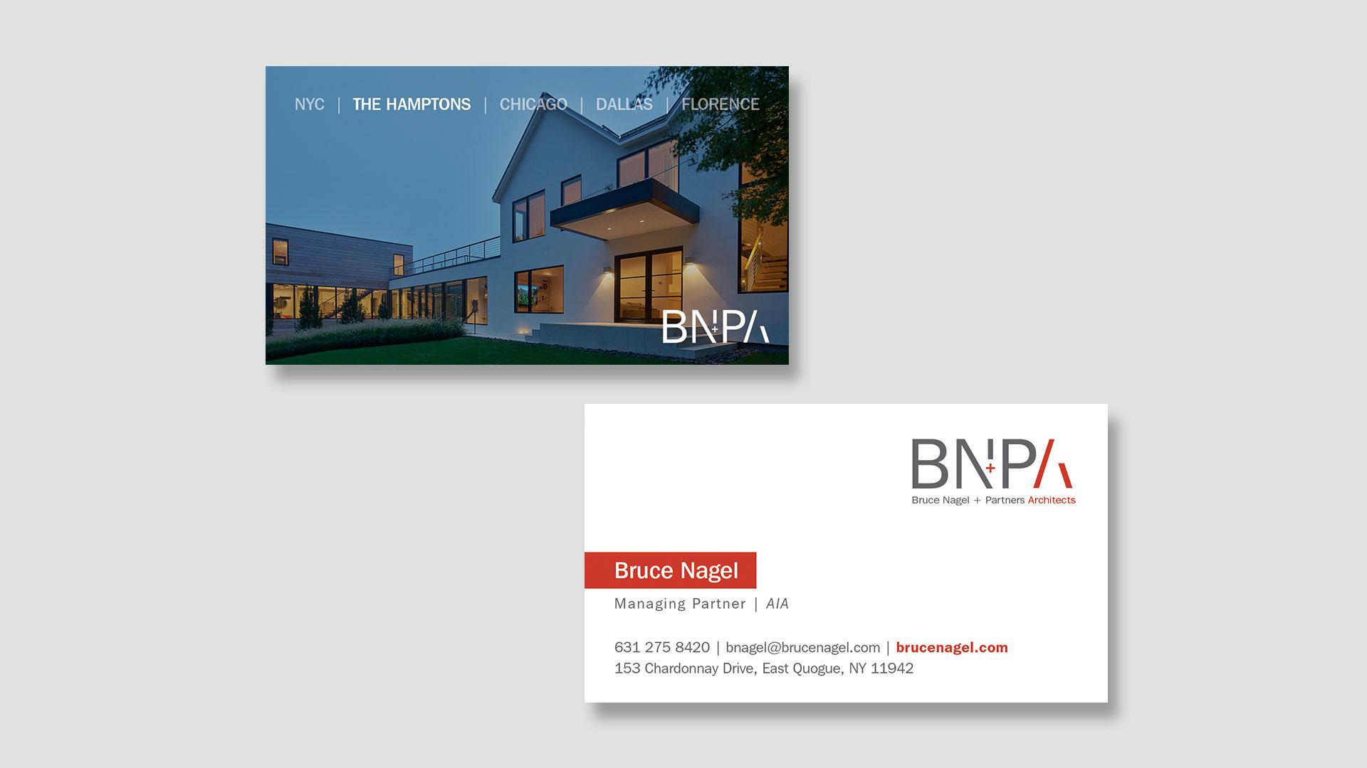 Custom Business Card Design - Bruce Nagel