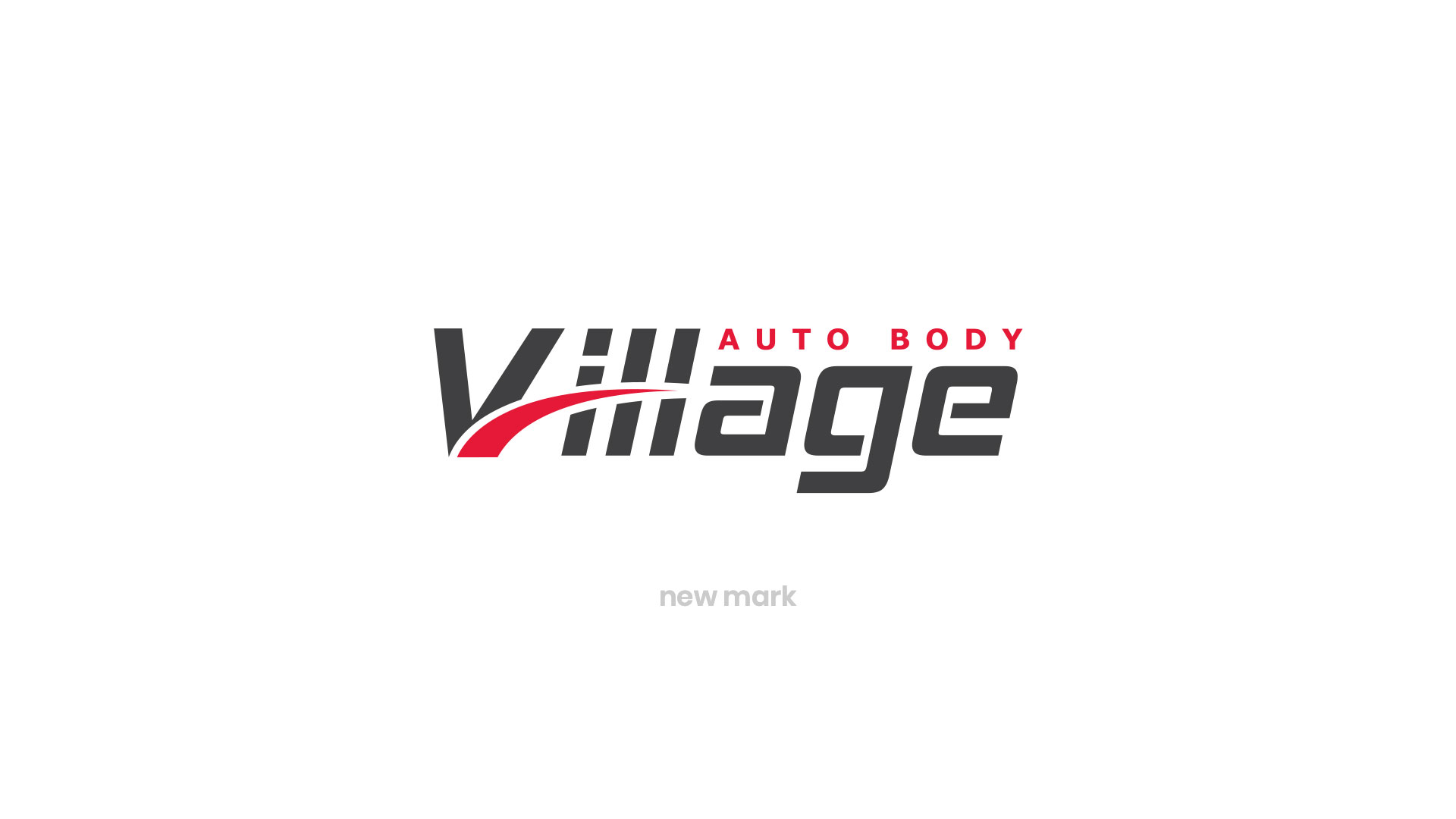 Custom Logo Design - Village Auto Body