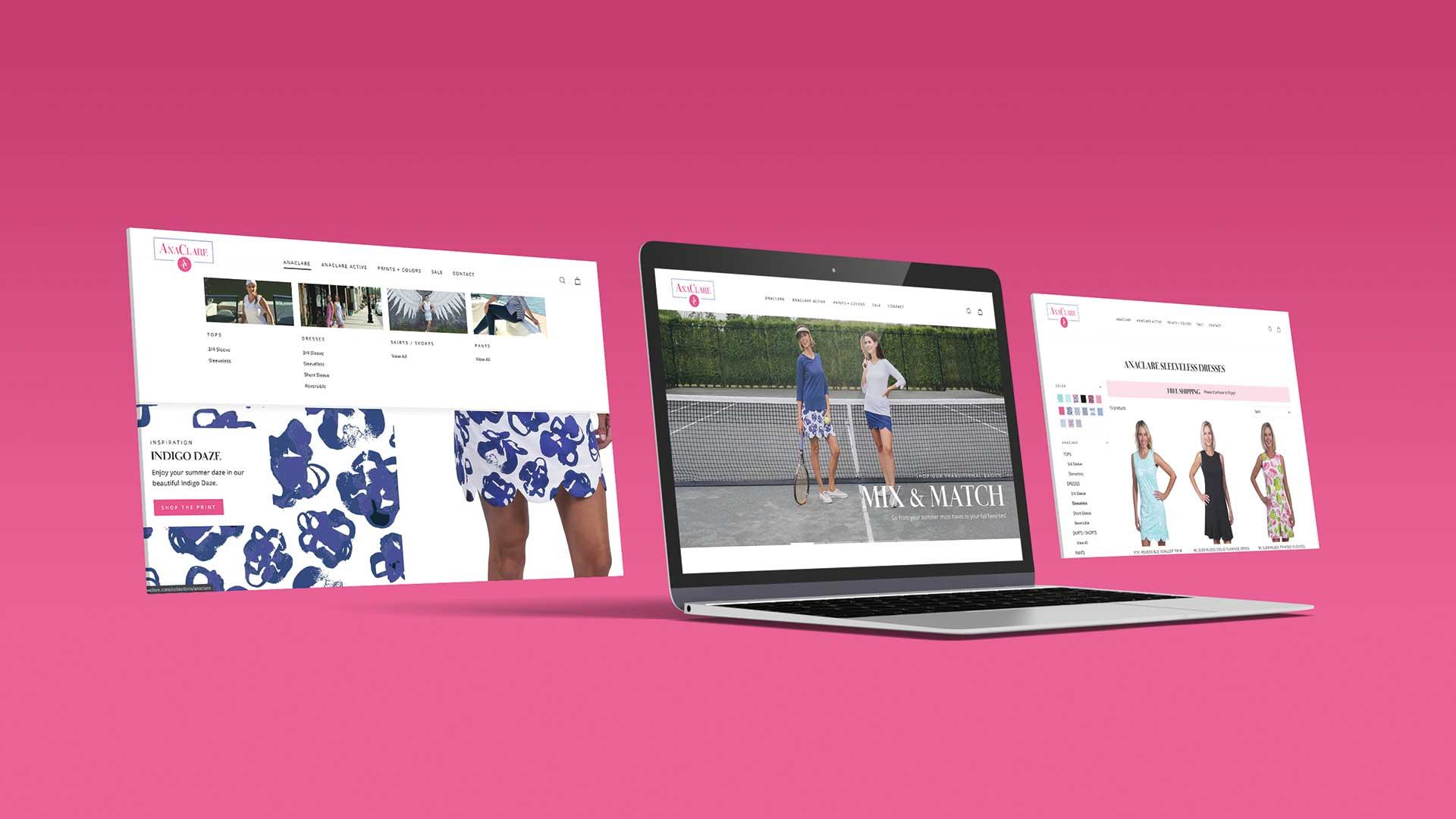 Custom Website Design - AnaClare