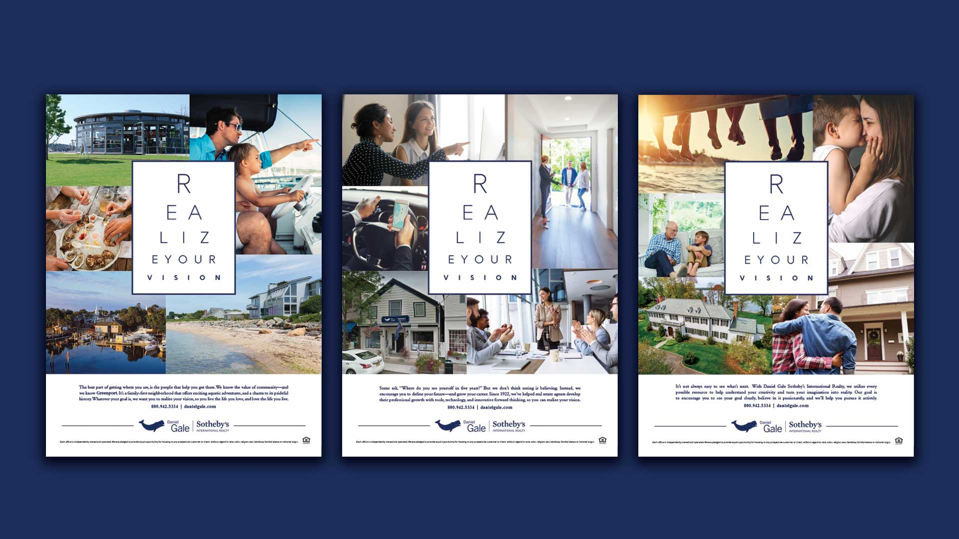 Print Ad Campaign - Sotheby's International Realty - Realize Your Vision