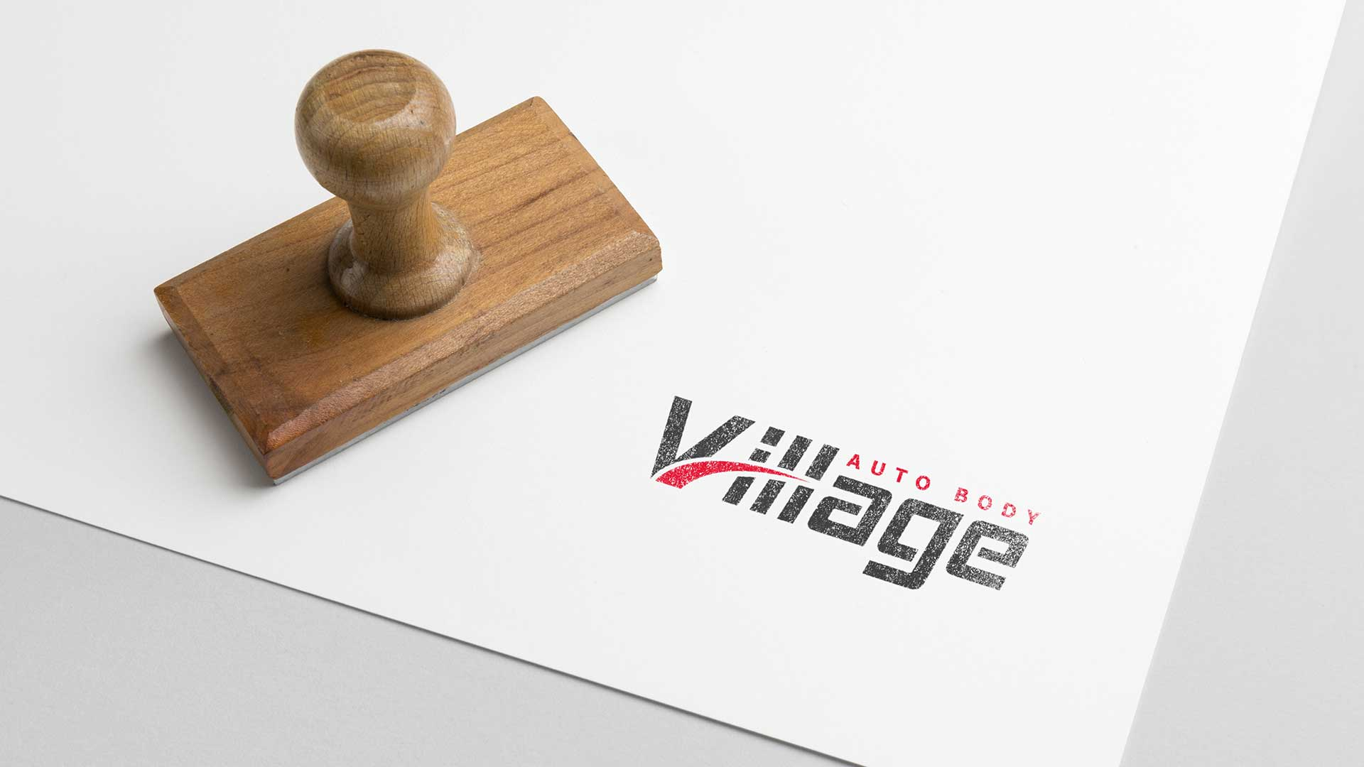 Custom Branding & Logo Design - Village Auto Body