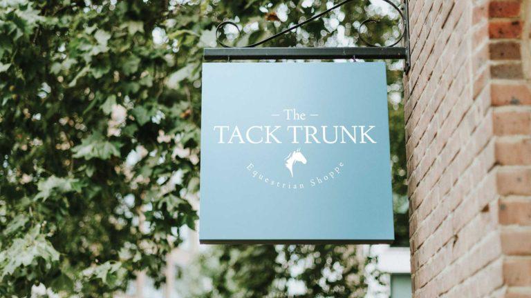 Custom Signage - Tack Trunk - Dead on Design